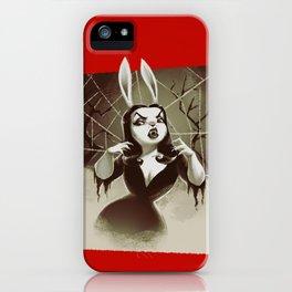 Vampirabbit iPhone Case