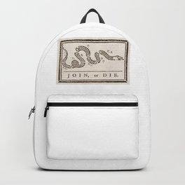 Join or Die Flag Original Backpack