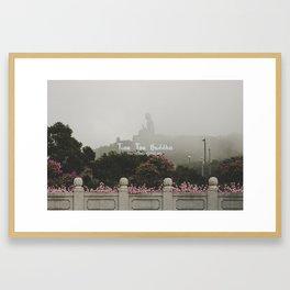 Hong Kong Tian Tan Buddha Framed Art Print