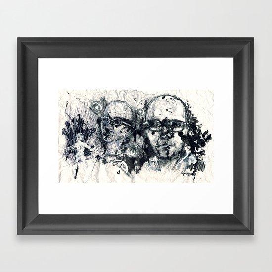 """Destroyed"" by Cap Blackard Framed Art Print"