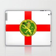 Alderney flag Laptop & iPad Skin