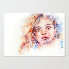 Magical  . . Child Portrait Canvas Print