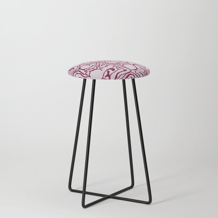 Cabbage Core Counter Stool