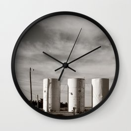 The Way Station in the High Plains Wall Clock