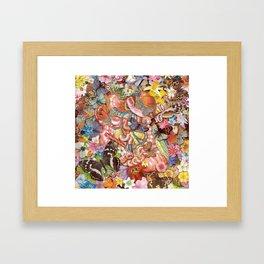 Insides Framed Art Print