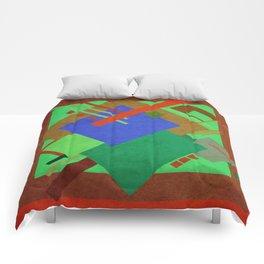 Geometric illustration 48 Comforters