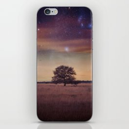 Never stop imagining... iPhone Skin