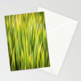 Green Nature Abstract Stationery Cards