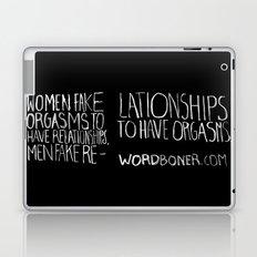 Orgasms Laptop & iPad Skin
