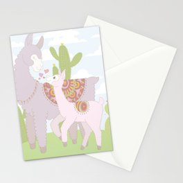 Momma Llama Stationery Cards