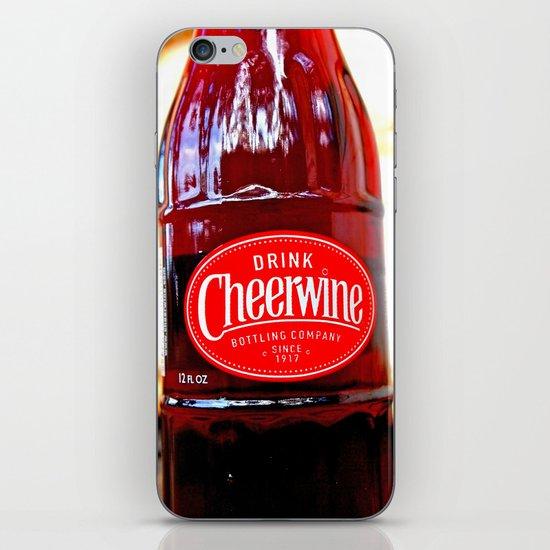 Classic Cheerwine iPhone Skin