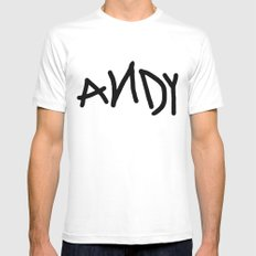 Andy White MEDIUM Mens Fitted Tee