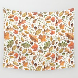 Autumn/Fall Leaves Wall Tapestry