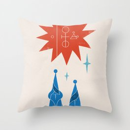 Together (Study 20201130) Throw Pillow