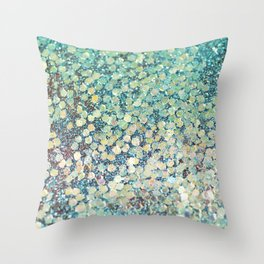 Mermaid Scales Throw Pillow
