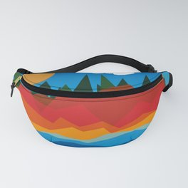 Sunset Island Fanny Pack