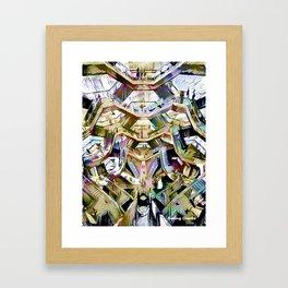 Hive Mentality Framed Art Print