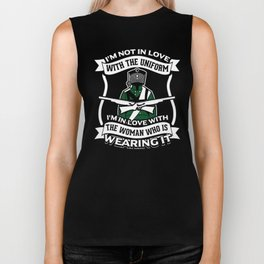 Hunter Uniform Women Wild Animals Forest Weapons Design Biker Tank