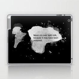 Never cry over spilt milk Laptop & iPad Skin