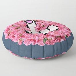 The Glamorous Middle Finger Floor Pillow