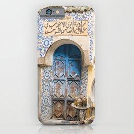 Doorway - Fes Ancient Medina iPhone Case
