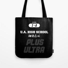 U.A. High School Print Tote Bag