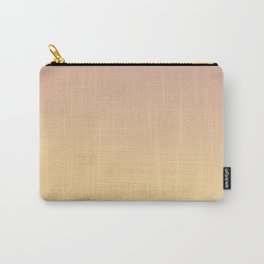 GRADUAL PATHS - Minimal Plain Soft Mood Color Blend Prints Carry-All Pouch