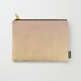 GRADUAL PATHS - Minimal Plain Soft Mood Color Blend Prints Carry-All Pouch