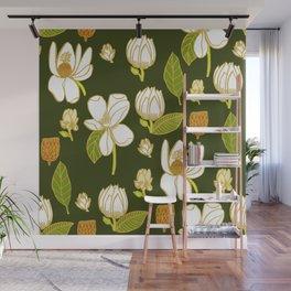 Sweet Magnolia Wall Mural