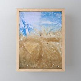 Take me to the beach, Leave me there alone Framed Mini Art Print