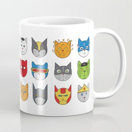 Super Cats Coffee Mug