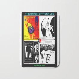 THE ORIGIN OF TIGER LEE ... book poster Bath Mat