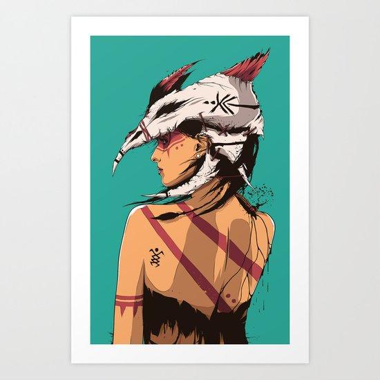 Bone Collector Art Print