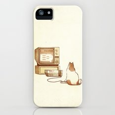 NES Cat  iPhone (5, 5s) Slim Case