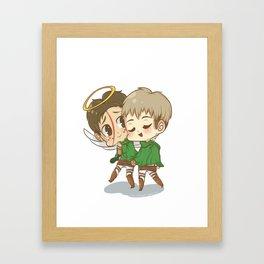 JeanxMarco Framed Art Print