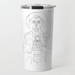 Vivian Maier Travel Mug