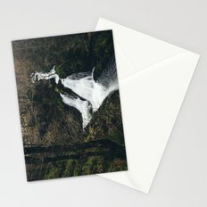 Colwith Force waterfall during heavy rain. Cumbria, UK. Stationery Cards