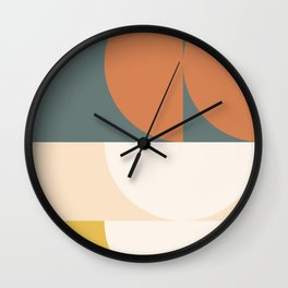 Abstract Geometric 02 Wall Clock