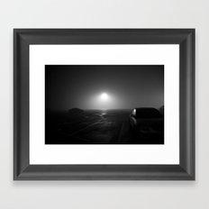 sea of fog Framed Art Print