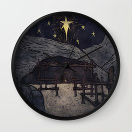 He is the Gift Wall Clock