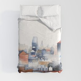 New York water containers Comforters