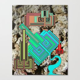 FUTURE FORMS OF EARTH (an adventure in neo-organics) Canvas Print