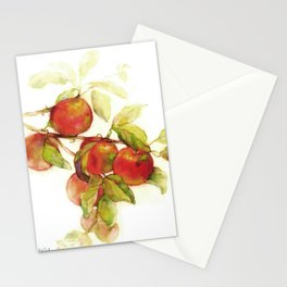 Autumn Apples Stationery Cards