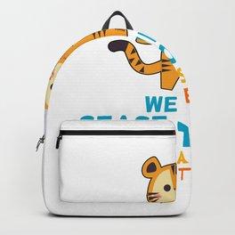 Tiger conservation demonstration Gift Backpack