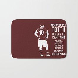 Arrivederci Totti Bath Mat