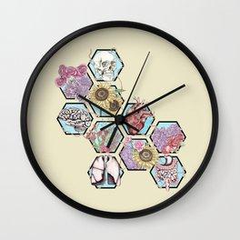 Garden of Health Wall Clock