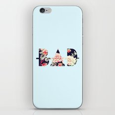 B∆D | Floral iPhone & iPod Skin