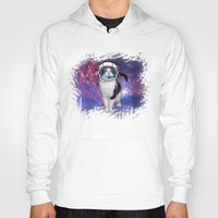 space cat Hoodies featuring Space cat by S.Levis