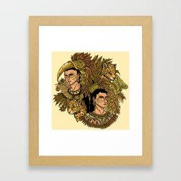 Jaguars Framed Art Print