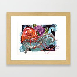 You Jelly Bro Framed Art Print